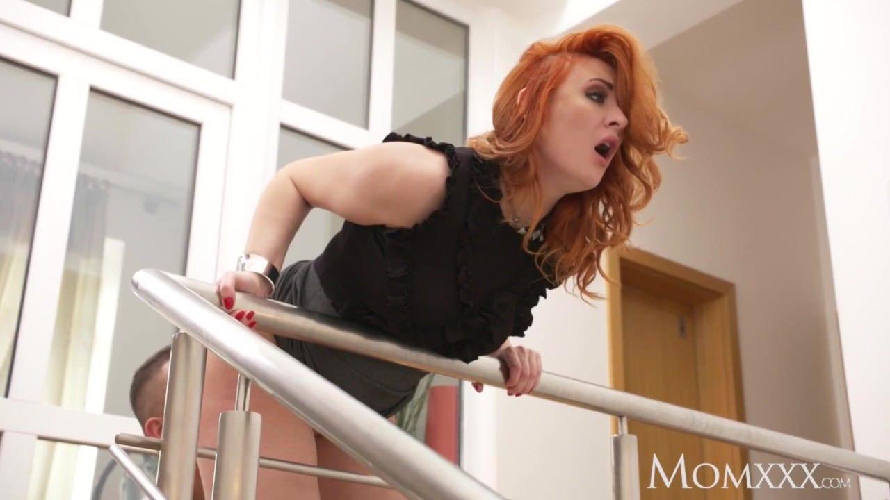 redhead pussy cum